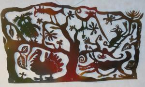 14. T.Hueckel: Gentle jungle-2, Dec. 2011