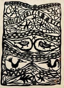 """23. T. Hueckel: Purely Ornamental 2017 <a href=""""http://www.tomaszhueckel.com/purely_ornamental/"""">(<u>see the story</u>)</a> October, 2017"""